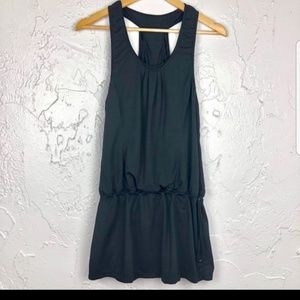 Lululemon run for fun layered tank dress